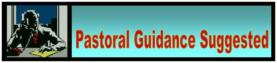 Pastoral Guidance